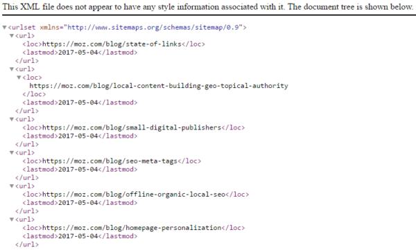 Βελτιστοποίηση ιστοσελίδων με XML Sitemap